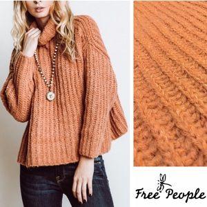 NWT Free People Fluffy Fox Sweater